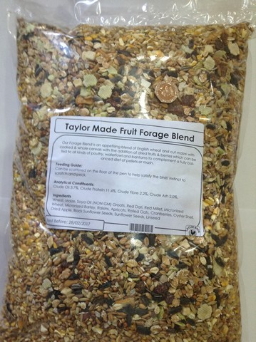 Taylor Made Veg Forage Blend 5kg