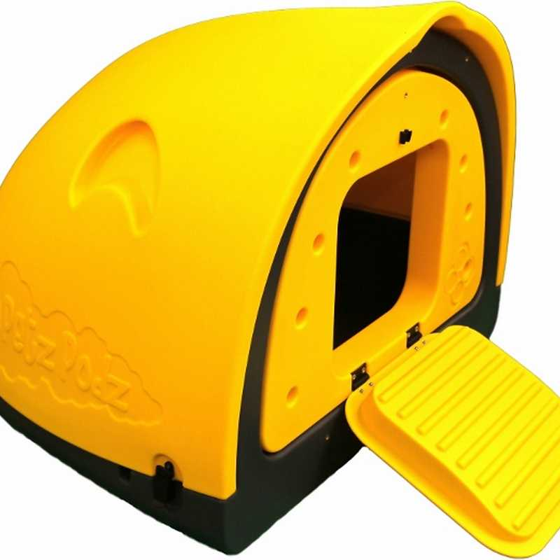 Petpodz chicken housing with run extension easy to clean for Plastic duck house