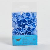 Clic Leg Rings Light Blue 12mm (Pk 100)